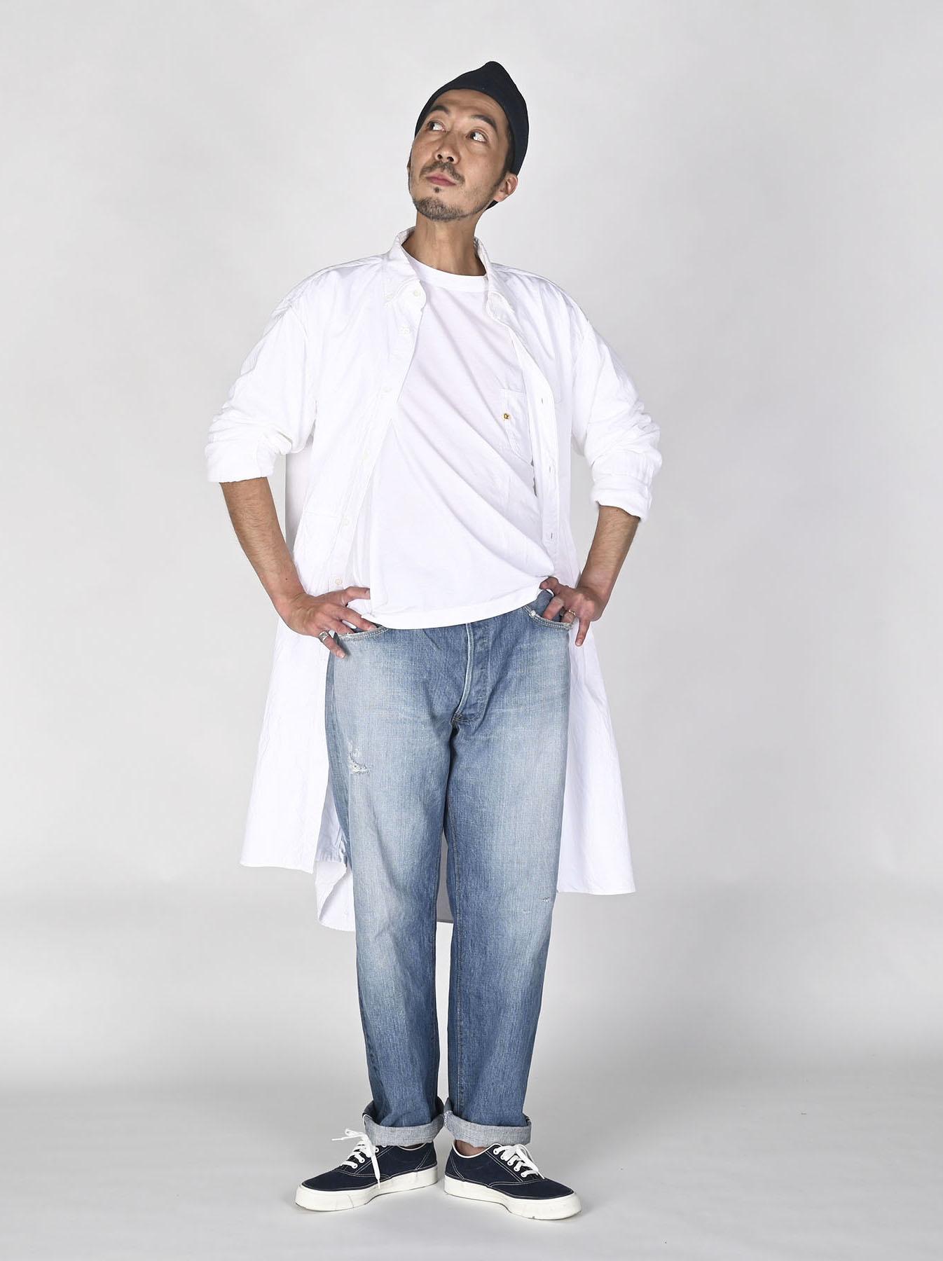 White Zenin Shugo Smock Dress-5