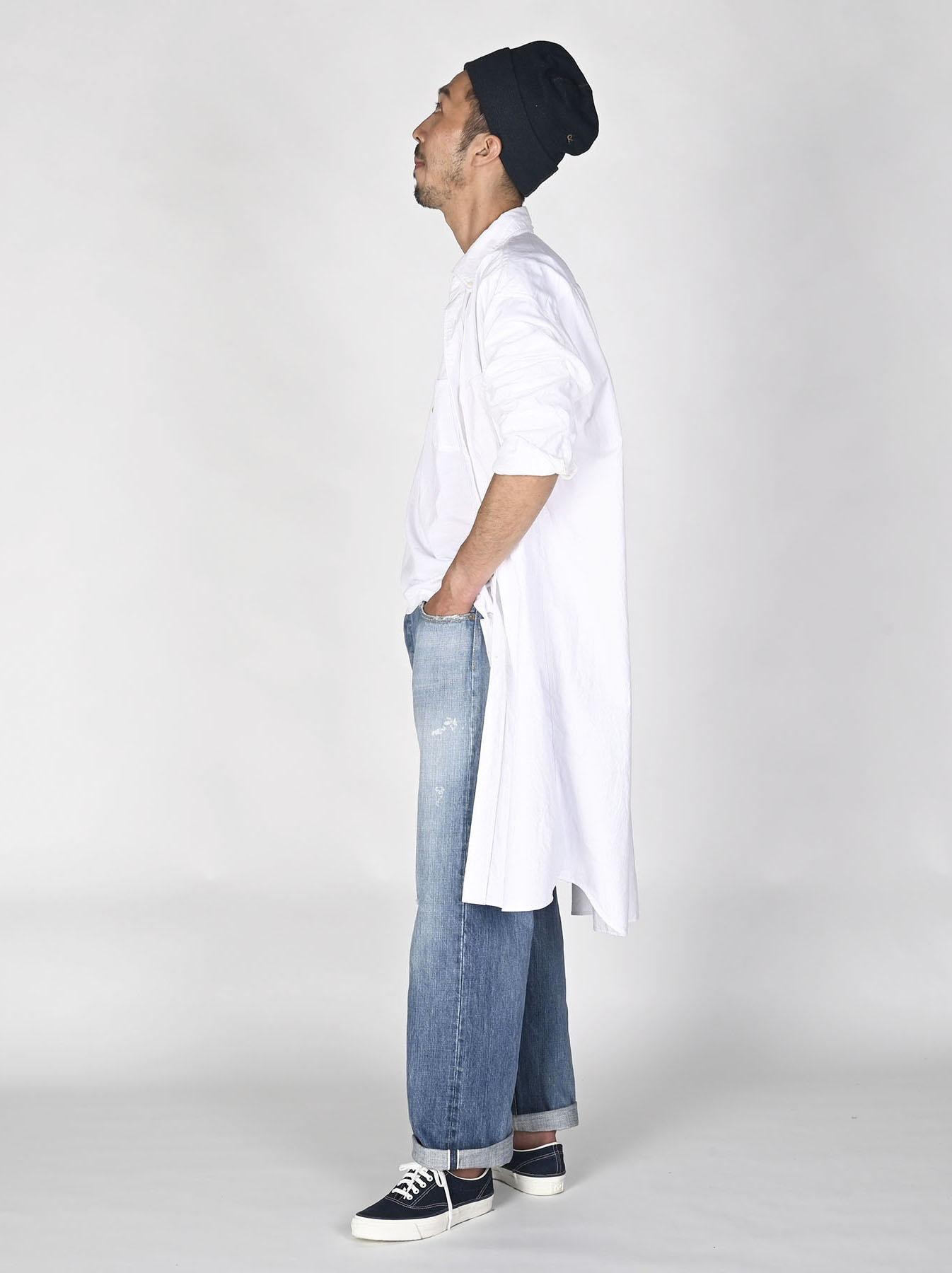 White Zenin Shugo Smock Dress-6