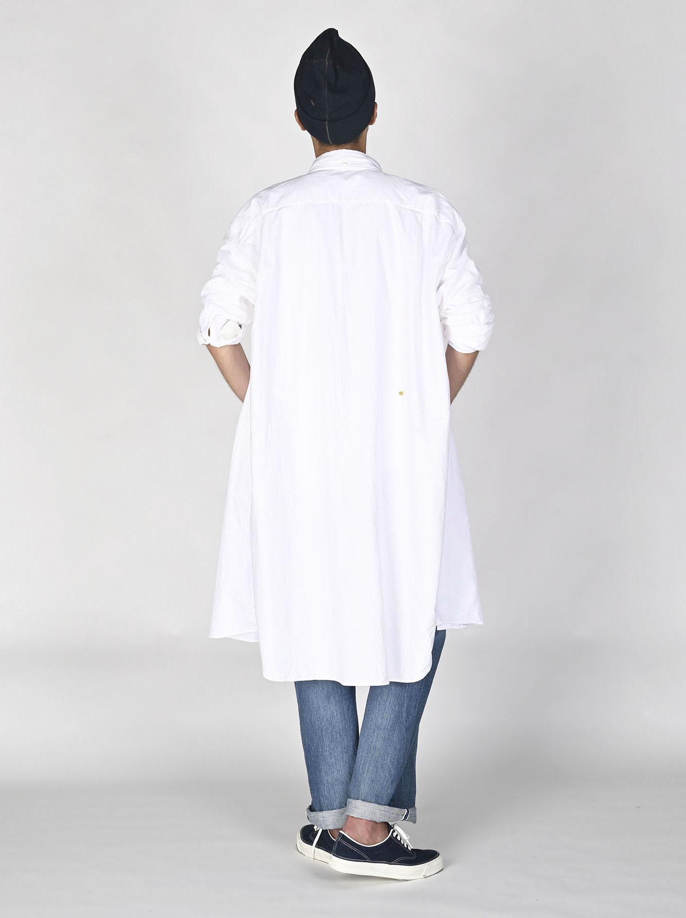 White Zenin Shugo Smock Dress-7