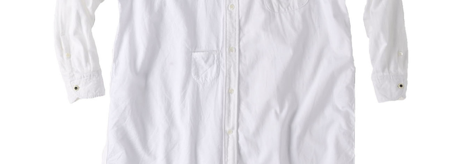 White Zenin Shugo Smock Dress