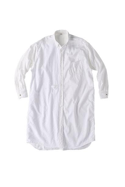 White Zenin Shugou Smock Dress