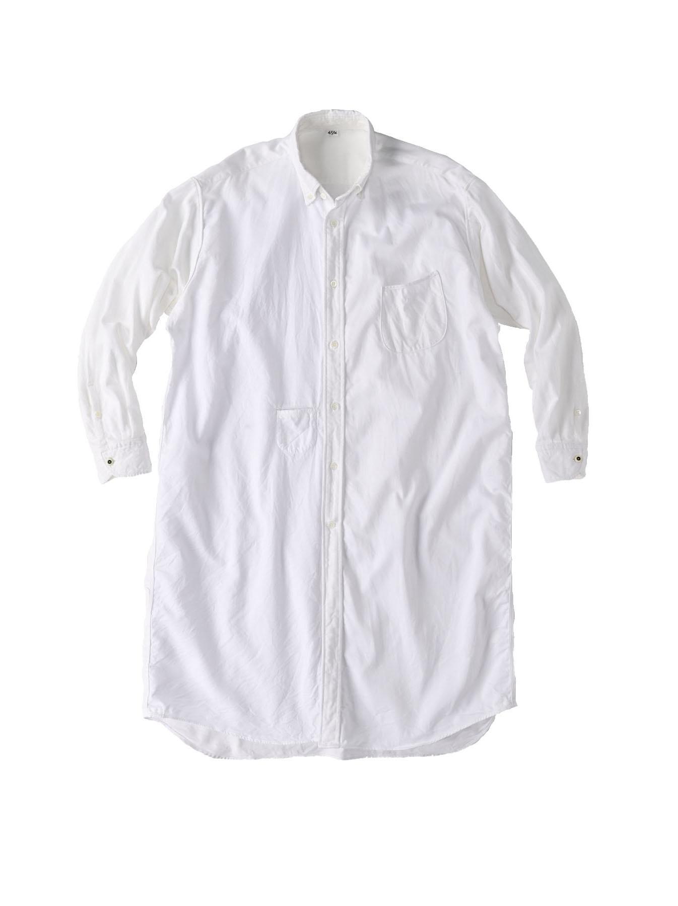 White Zenin Shugo Smock Dress-1