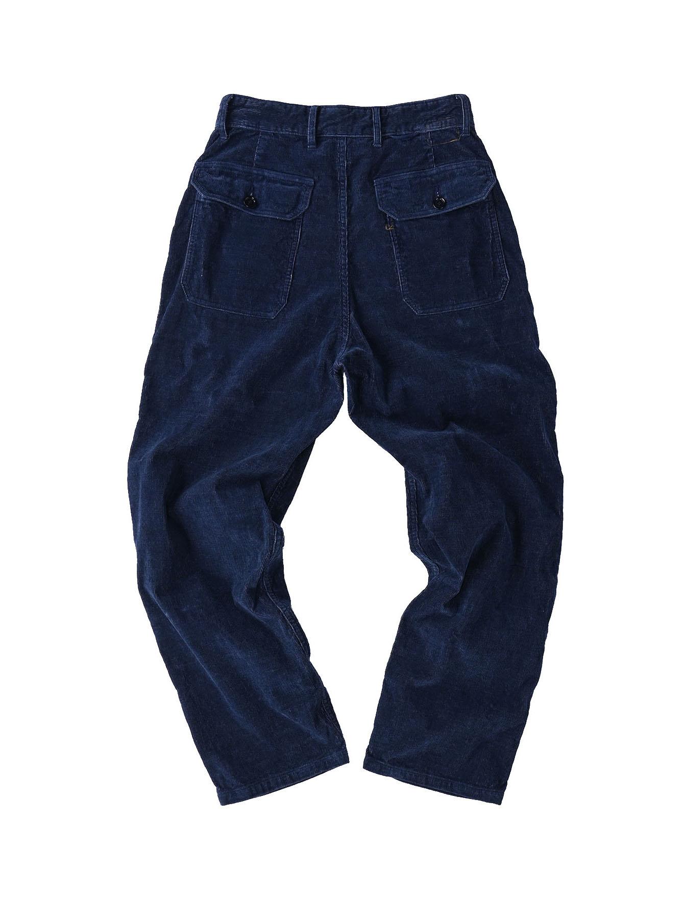 Indigo Corduroy 908 Baker Pants-6
