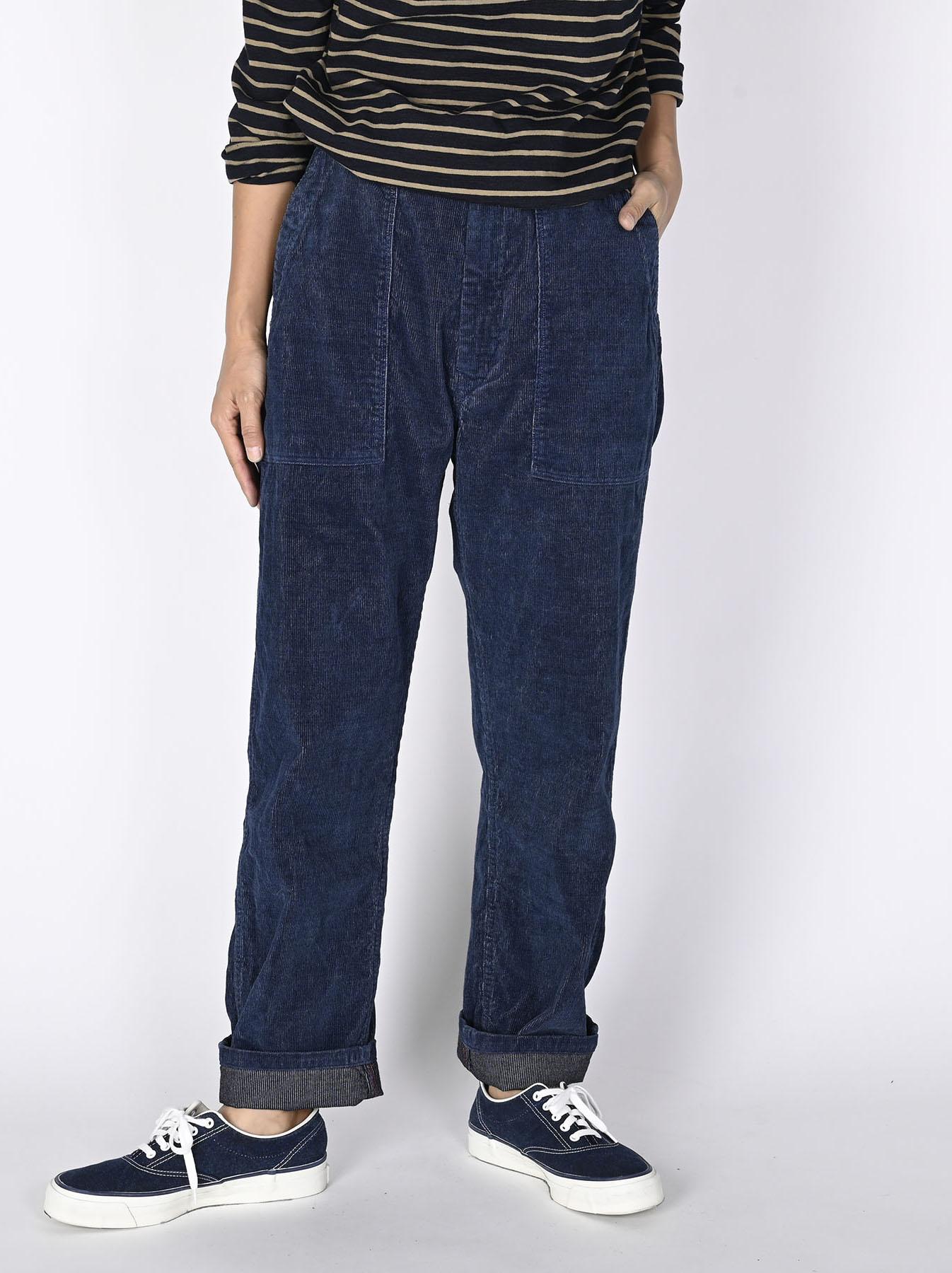 Indigo Corduroy 908 Baker Pants-4