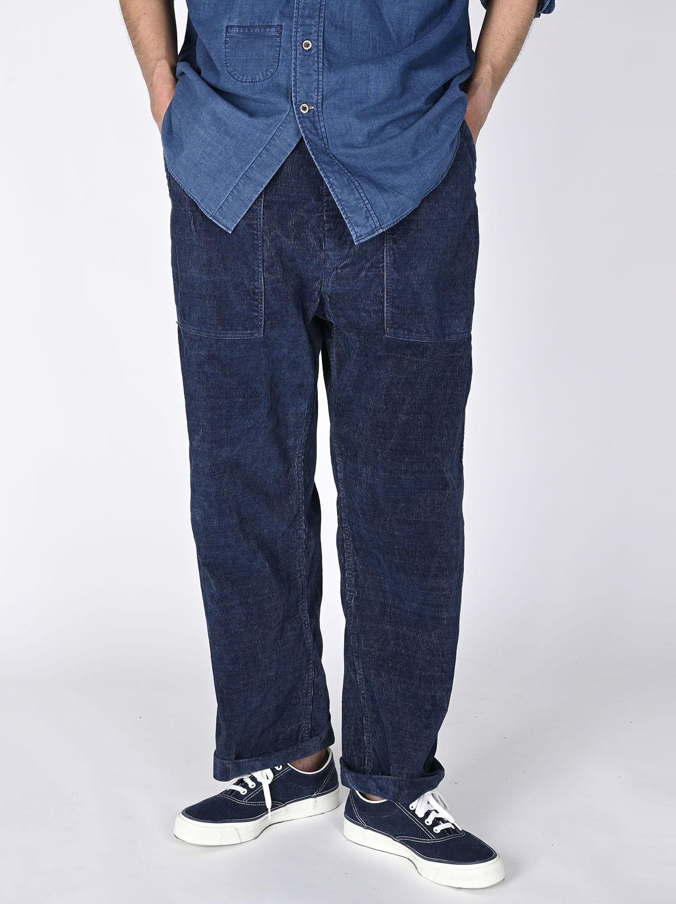 Indigo Corduroy 908 Baker Pants-5