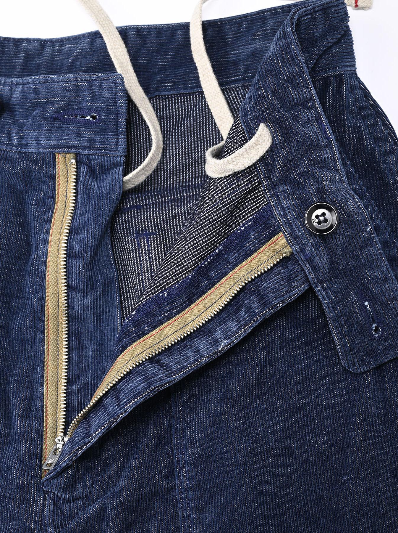 Indigo Corduroy 908 Baker Pants-8