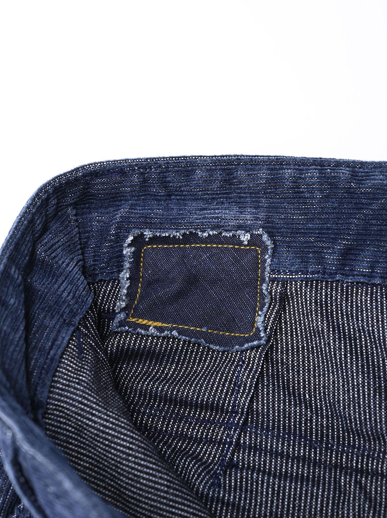 Indigo Corduroy 908 Baker Pants-12