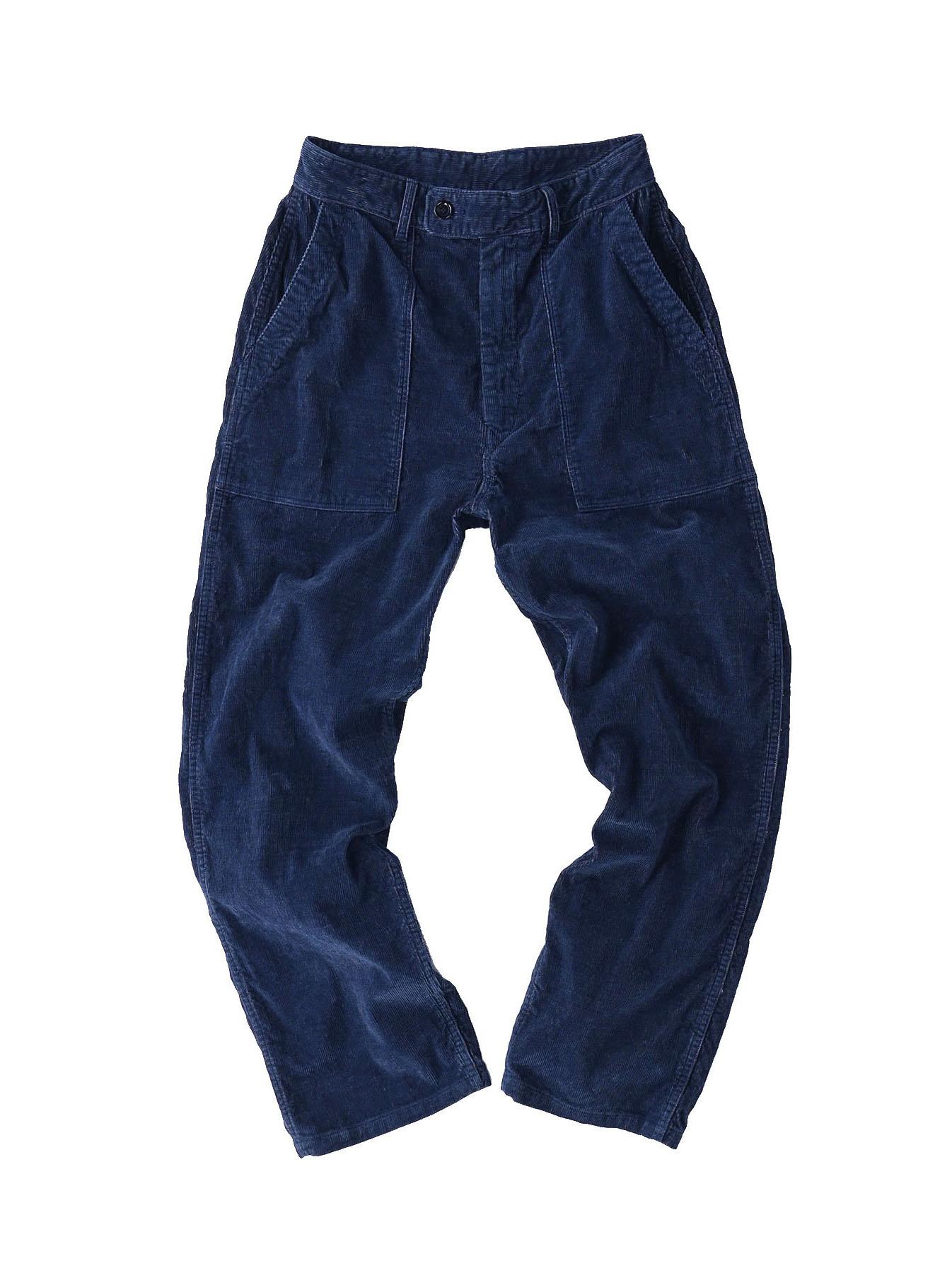 Indigo Corduroy 908 Baker Pants-1