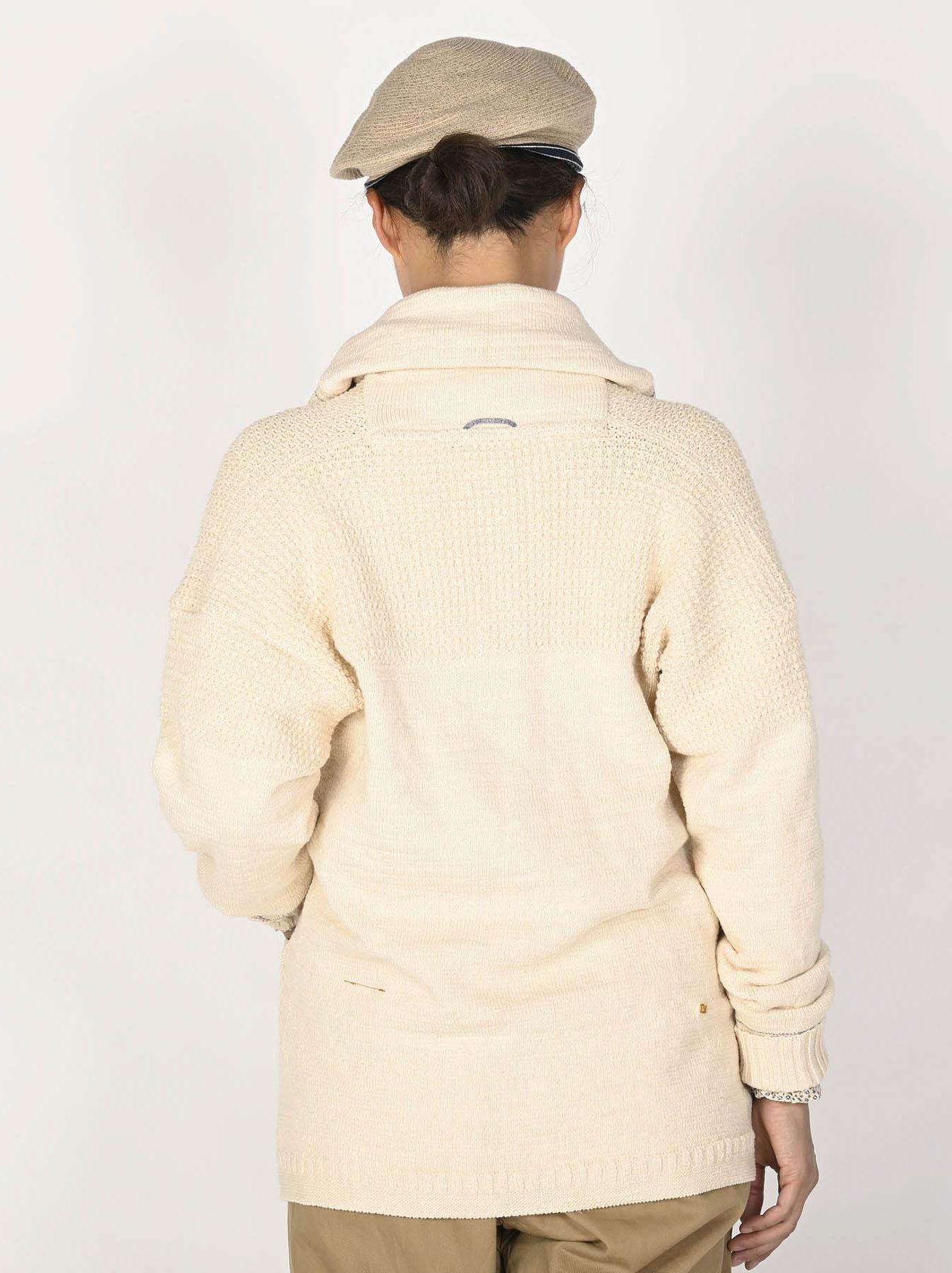 Stretch Knit Shawl Collar 908 Blouson-5