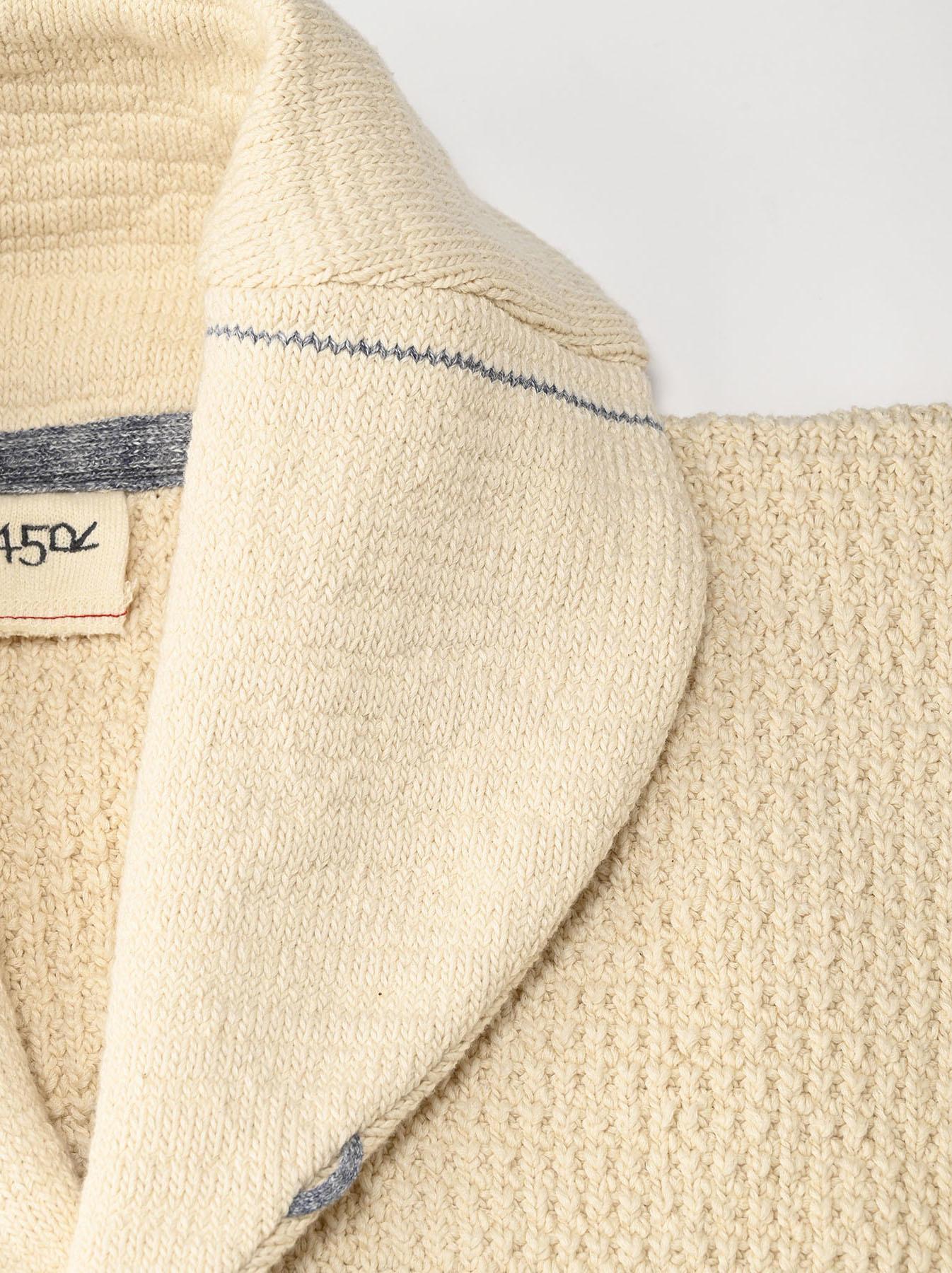Stretch Knit Shawl Collar 908 Blouson-7