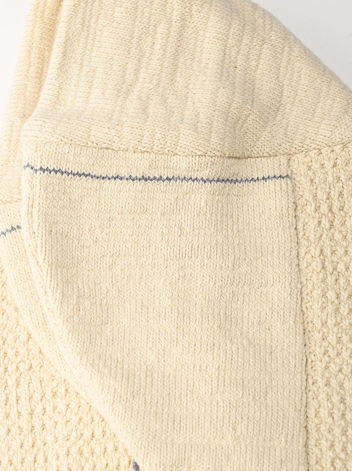 Stretch Knit Shawl Collar 908 Blouson-8
