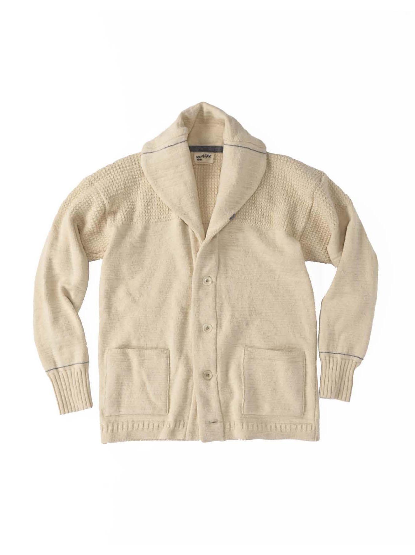Stretch Knit Shawl Collar 908 Blouson-1