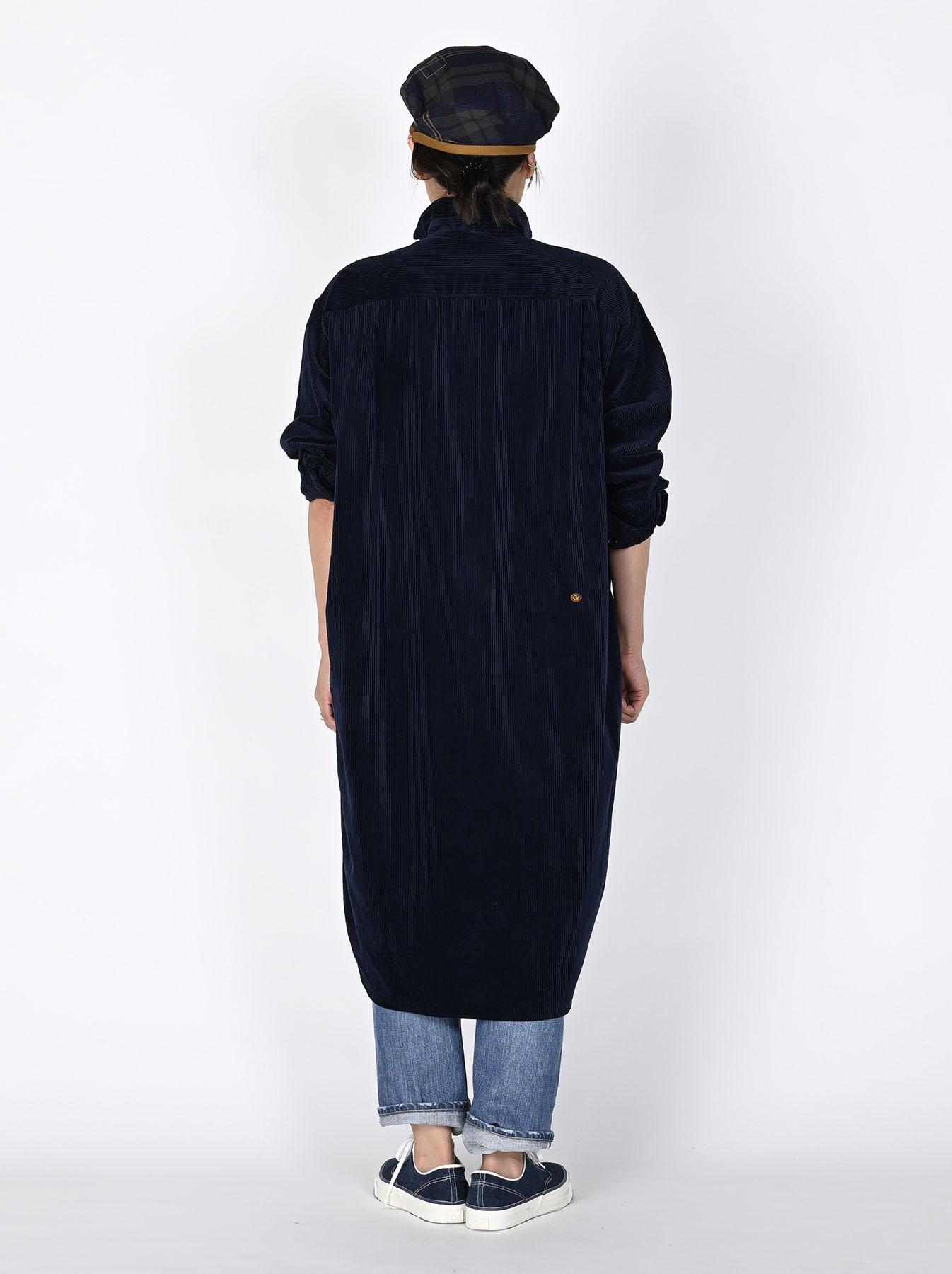 Kutekute Corduroy Smock Dress-7