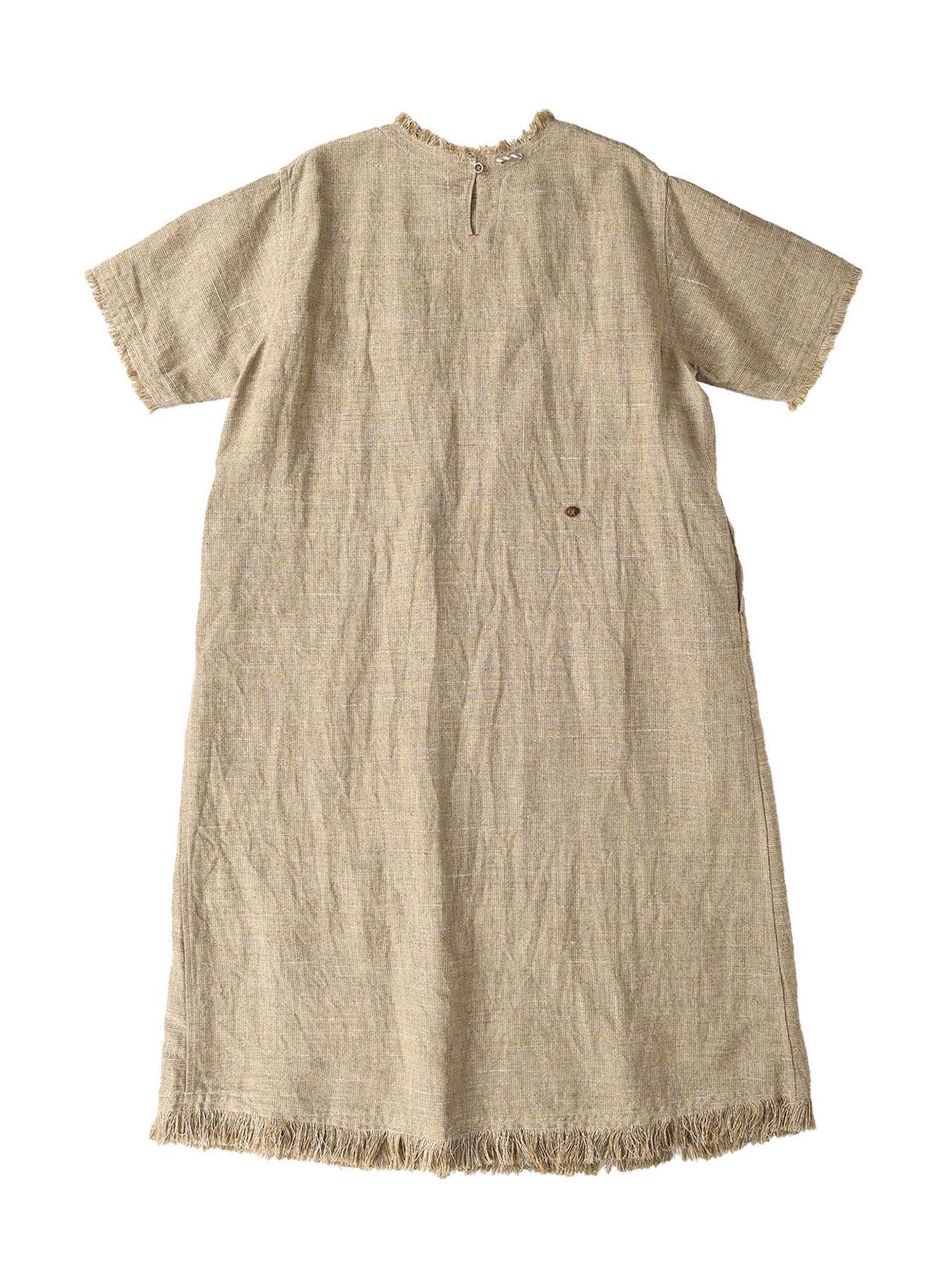 Gima Tweed Leilei Embroidery Dress-8