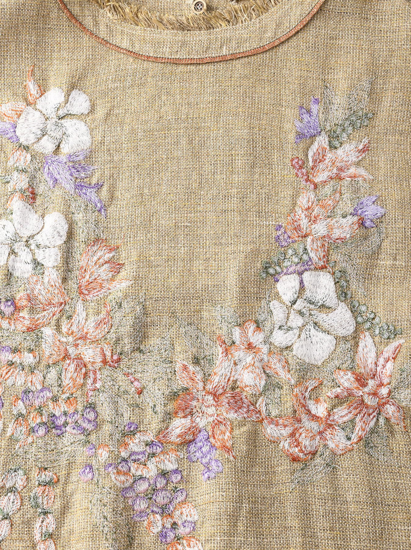 Gima Tweed Leilei Embroidery Dress-10