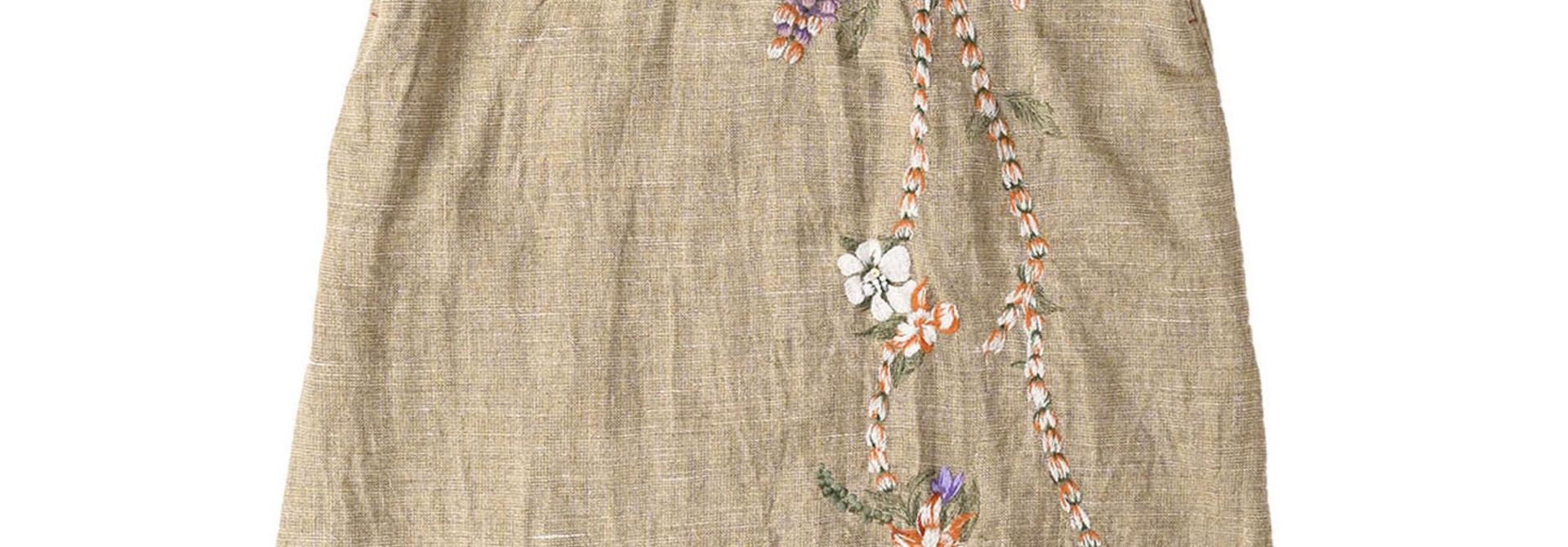 Gima Tweed Leilei Embroidery Dress
