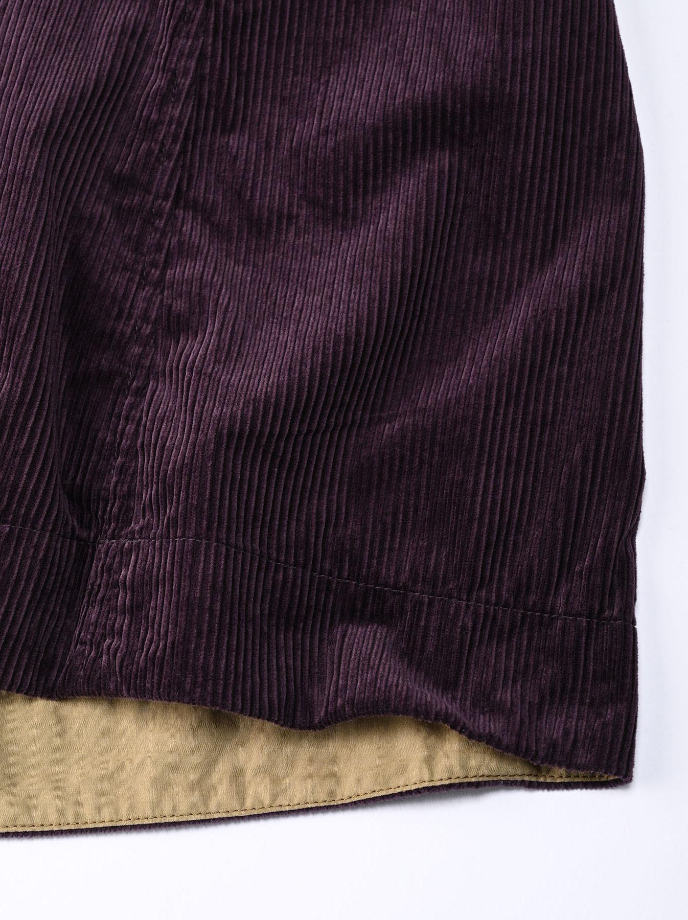 Kutekute Corduroy Gathered Dress-11