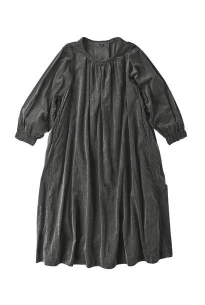 Kutekute Corduroy Gathered Dress