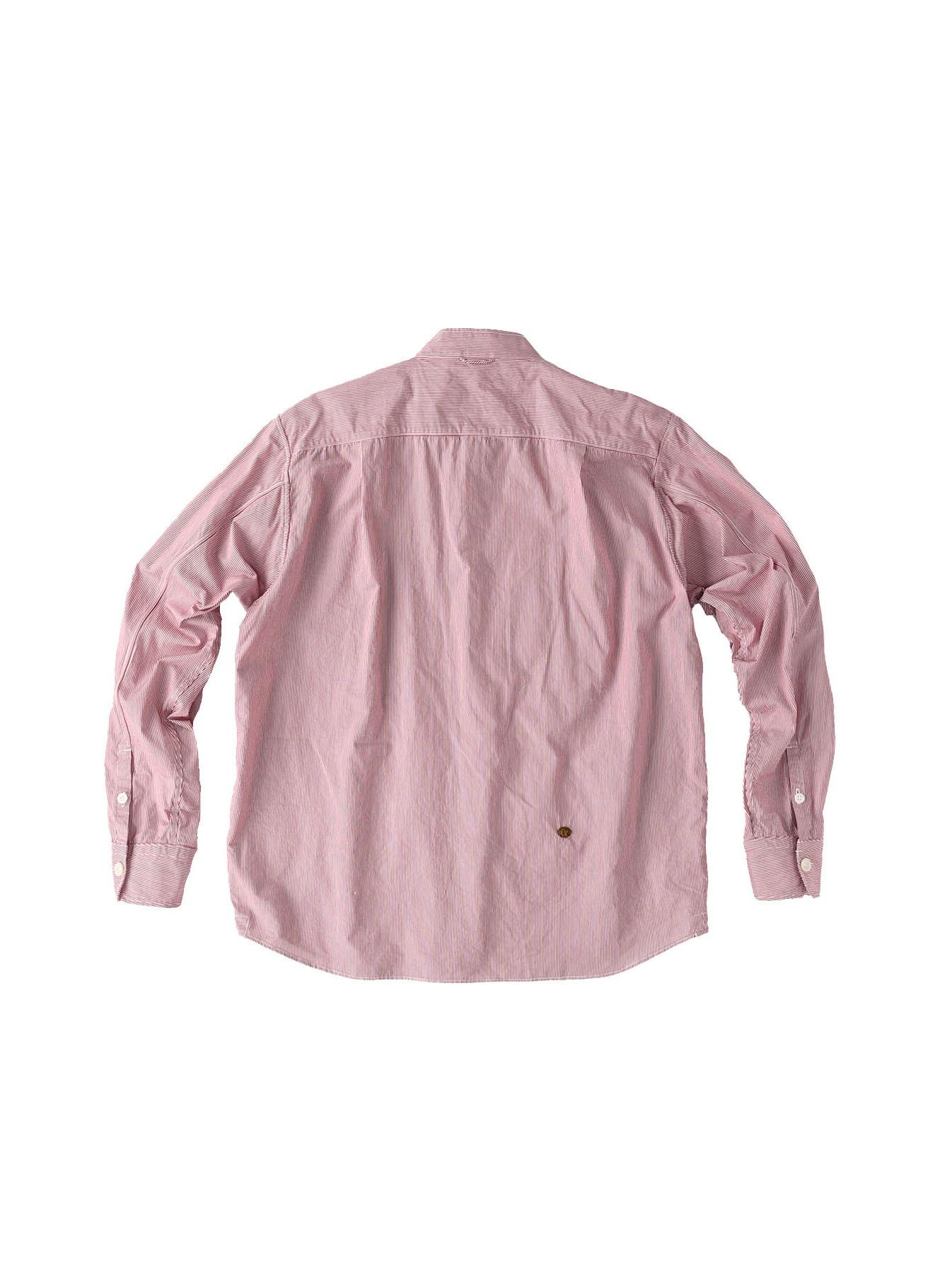 Miko Stand Collar 908 Ocean Shirt-8