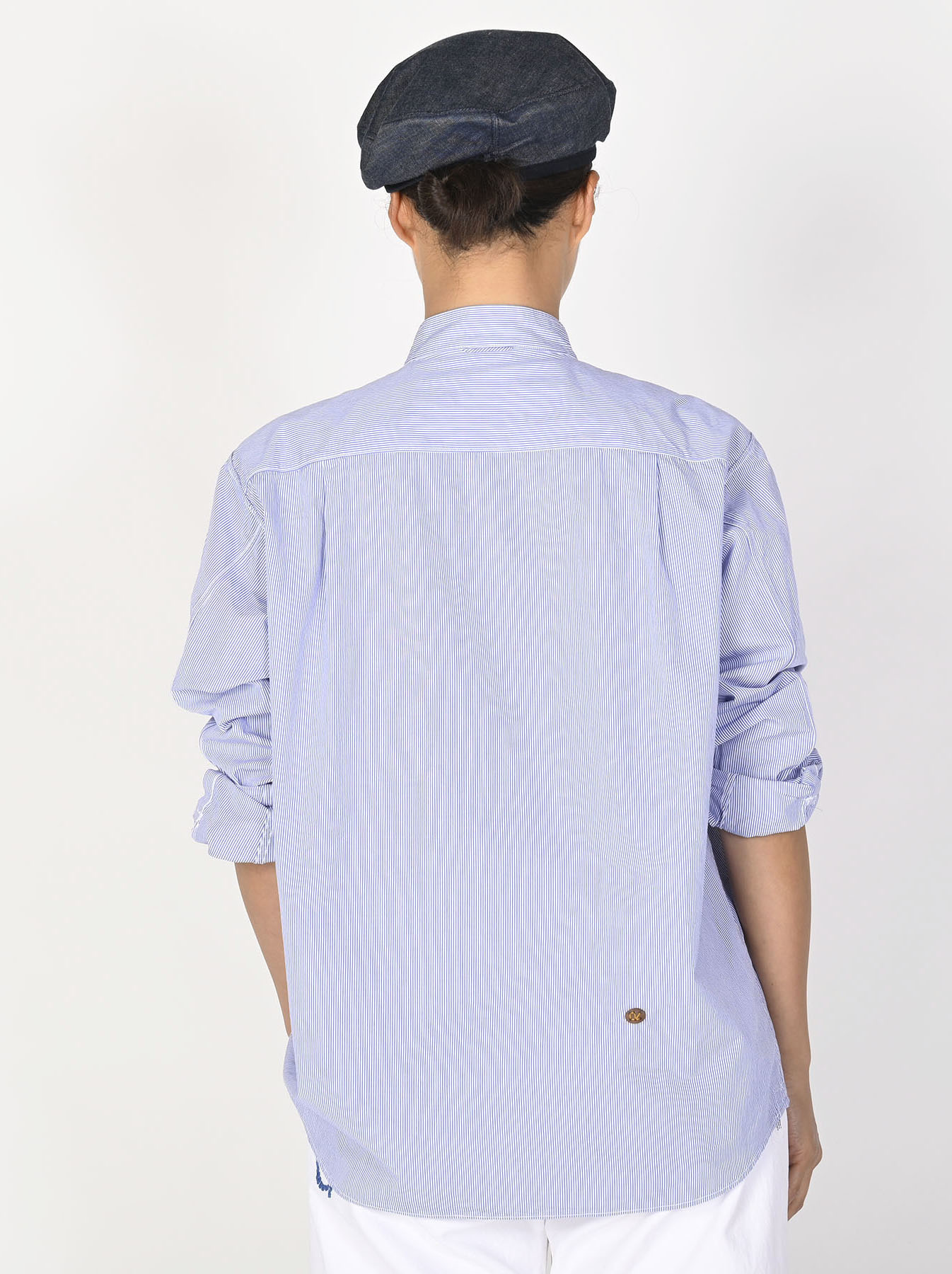 Miko Stand Collar 908 Ocean Shirt-5