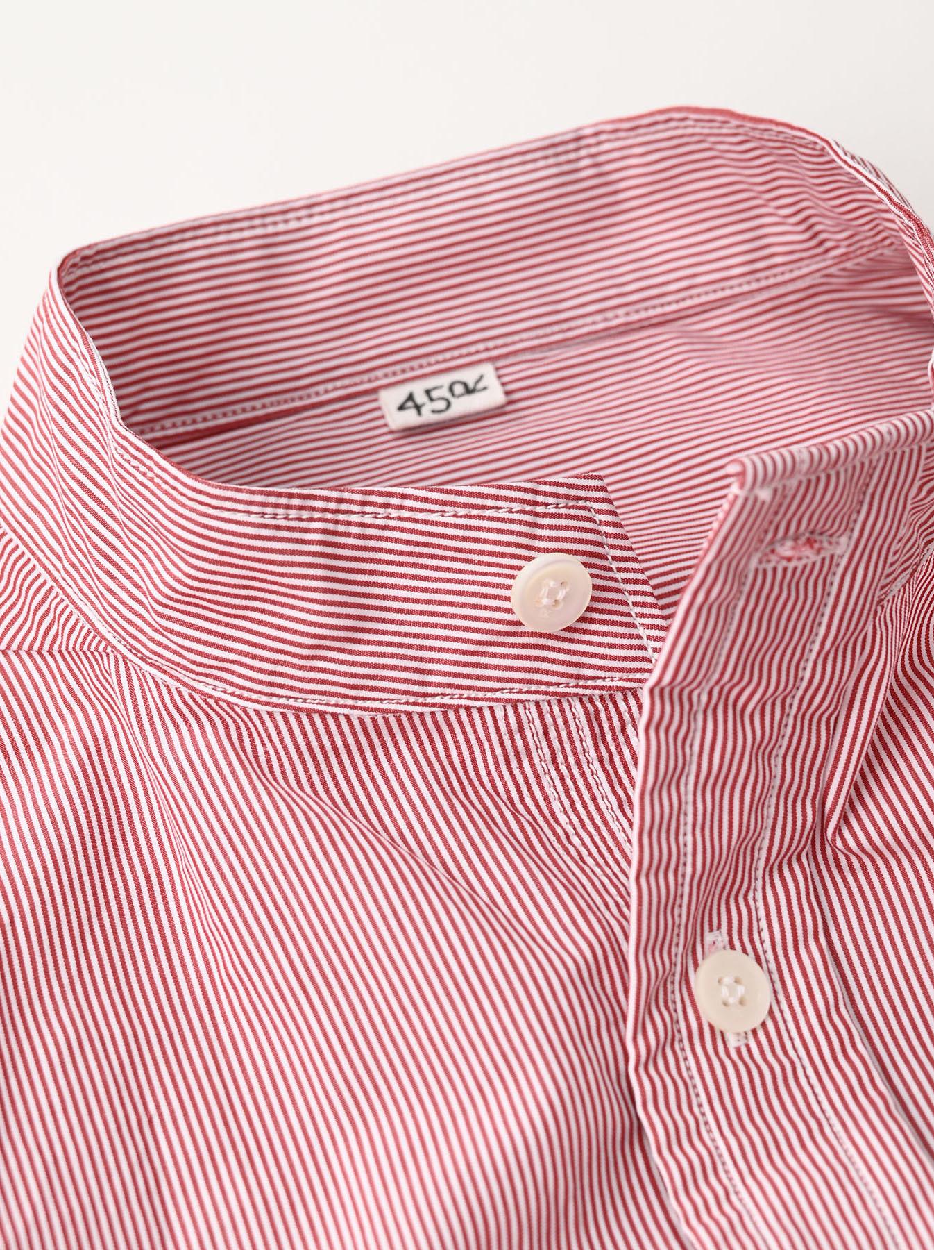 Miko Stand Collar 908 Ocean Shirt-9