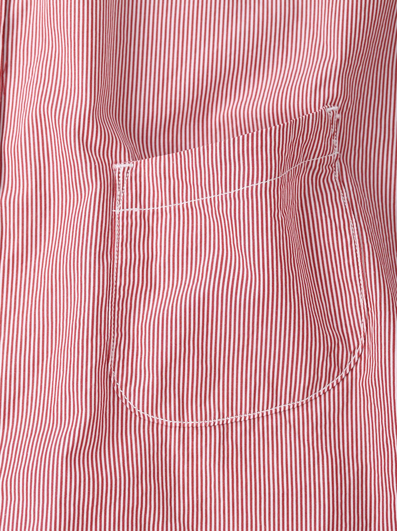 Miko Stand Collar 908 Ocean Shirt-10