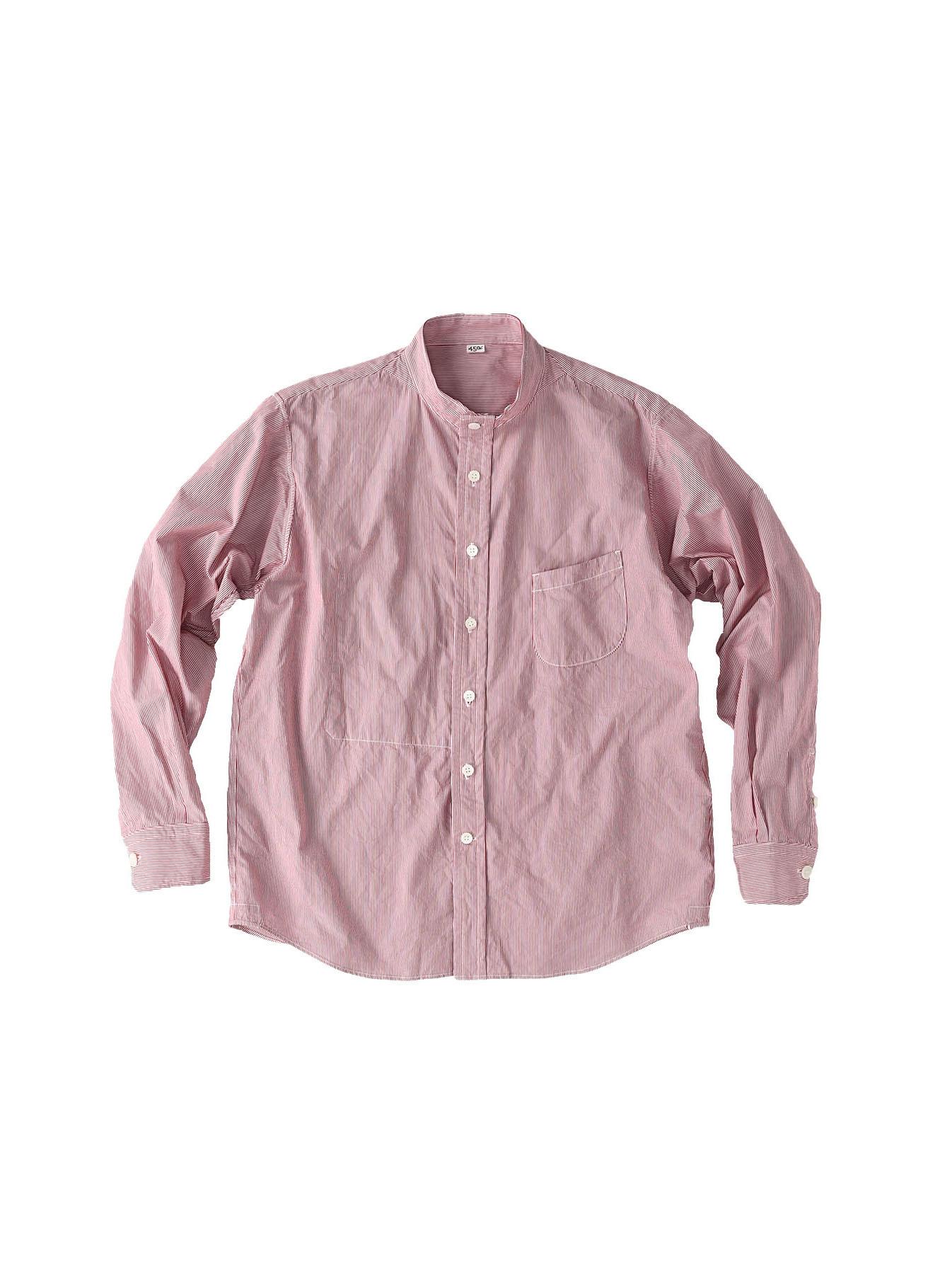 Miko Stand Collar 908 Ocean Shirt-2