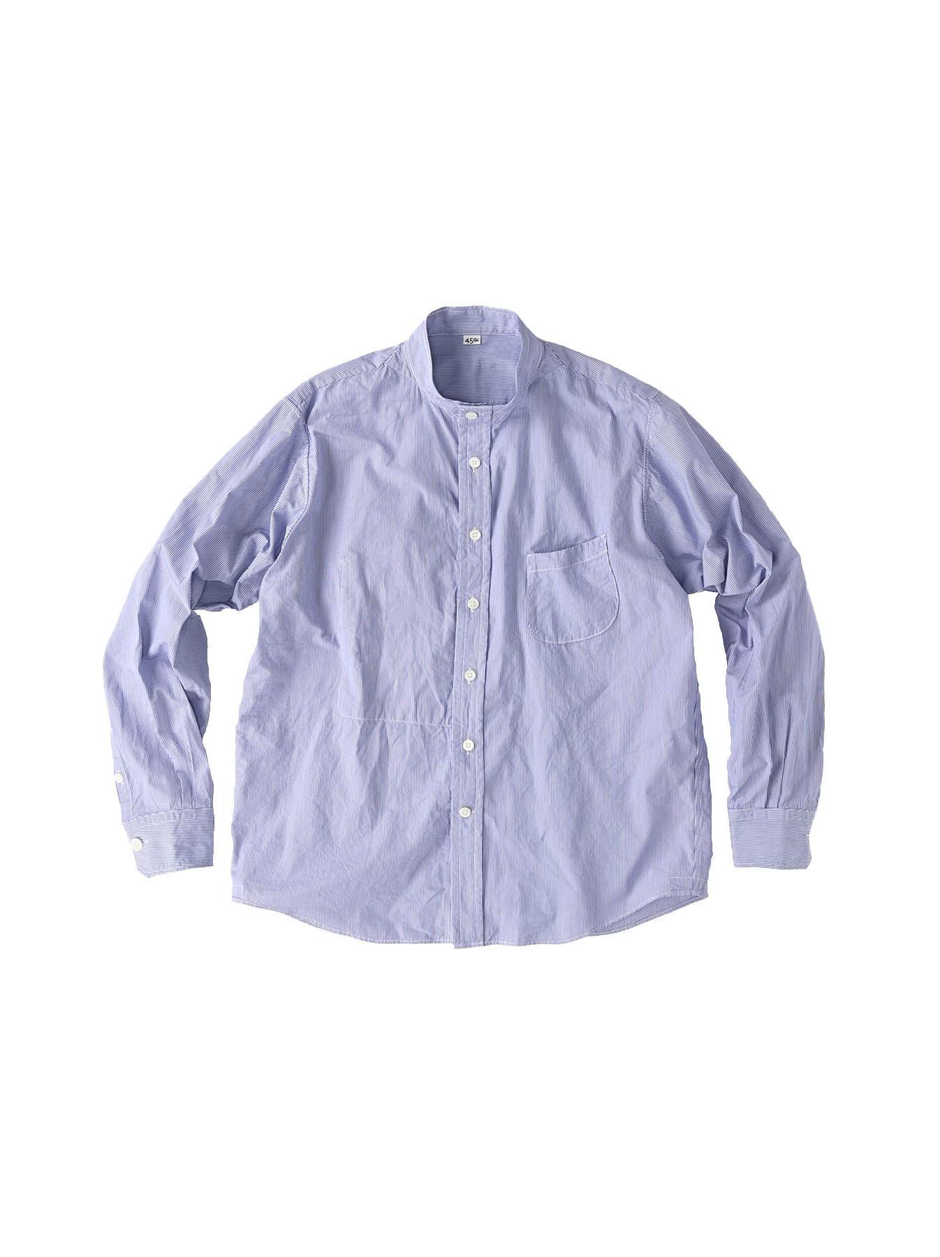 Miko Stand Collar 908 Ocean Shirt-3
