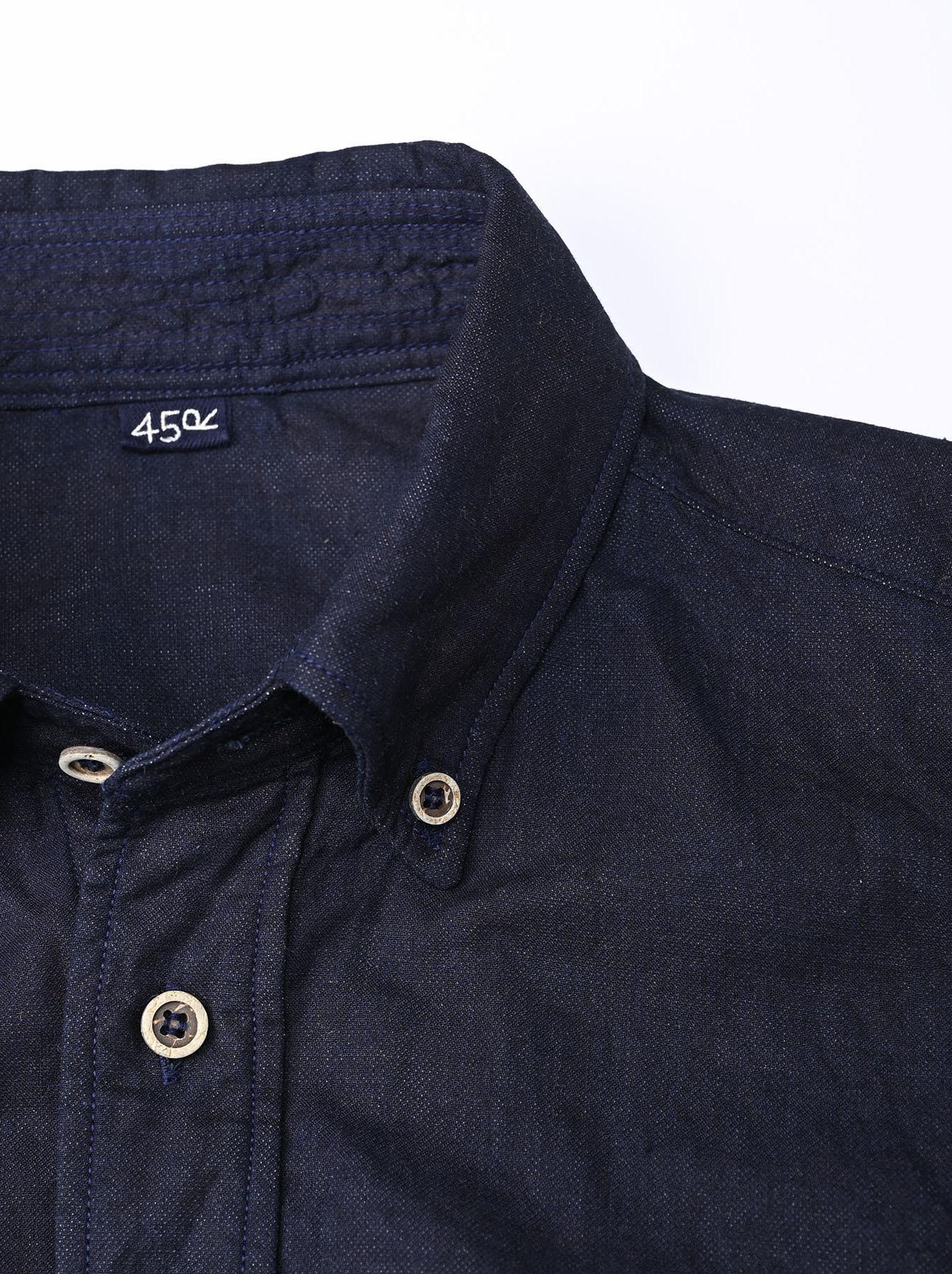 Indigo Gauze 908 Ocean Shirt-6