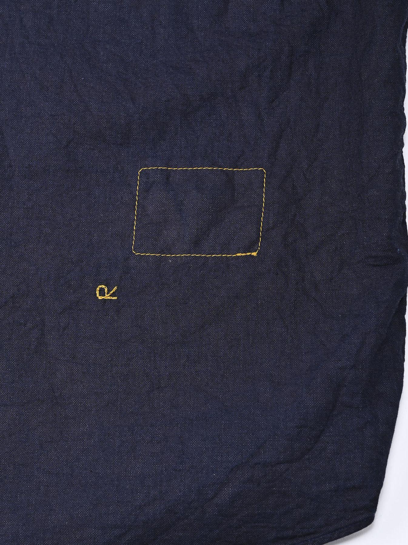 Indigo Gauze 908 Ocean Shirt-11