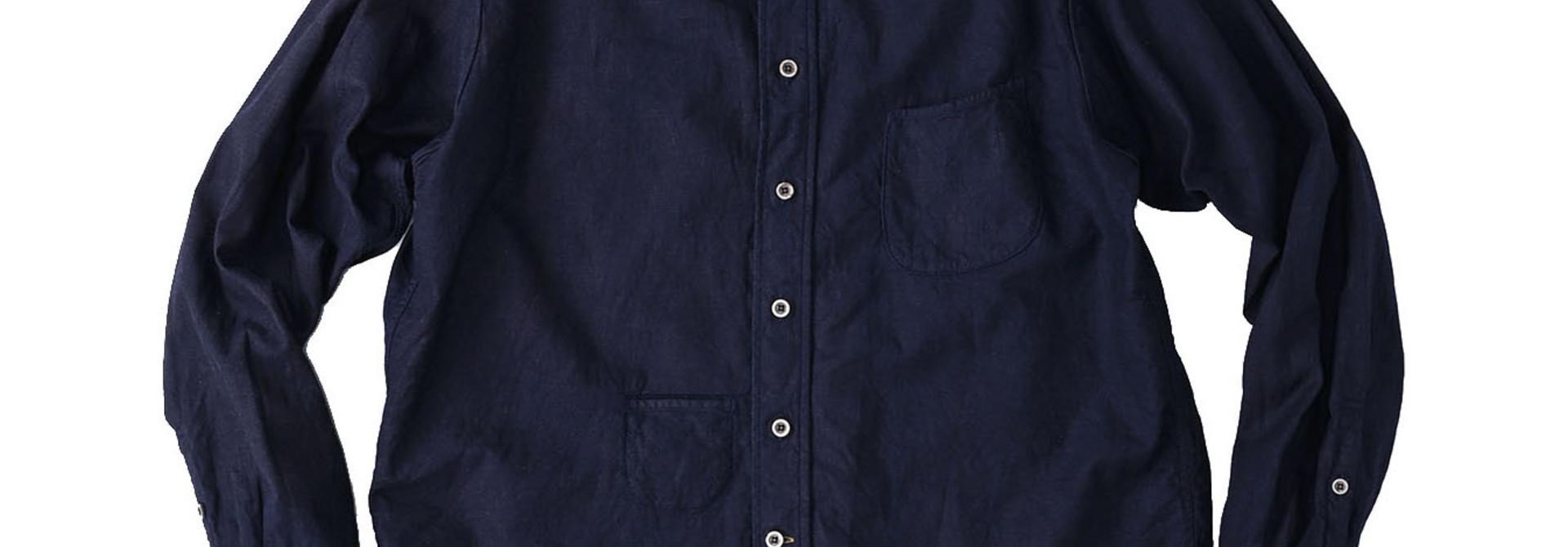 Indigo Gauze 908 Ocean Shirt