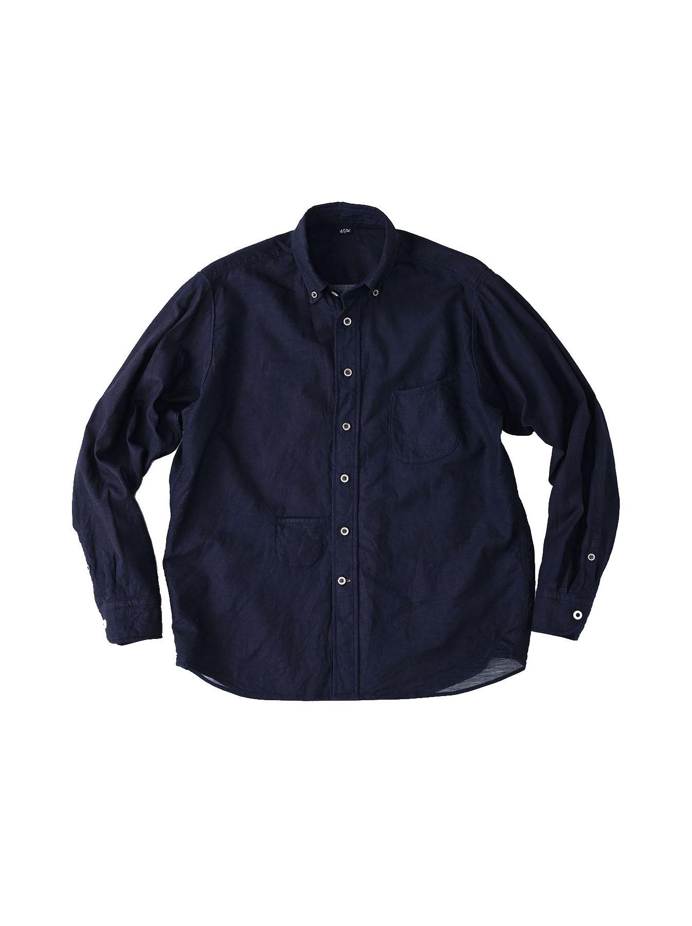 Indigo Gauze 908 Ocean Shirt-1