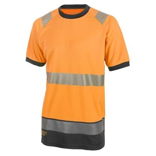 B Seen Hi Vis Two-tone T Shirt with Retro Tape