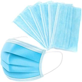 3-Ply Disposable PPE Face Mask Medical Grade