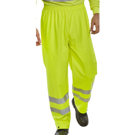 B Seen BSeen Hi Vis PU Trousers