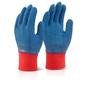Latex Fully Coated Gripper Glove
