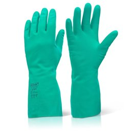 Click Nitrile Flock Lined Gloves
