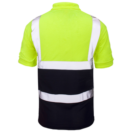 Super Touch Two Tone Hi Vis Polo