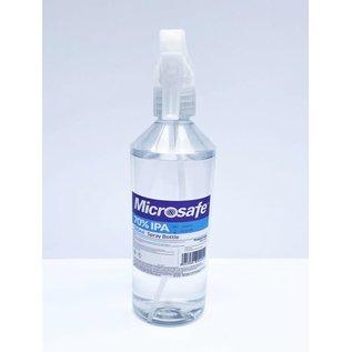 Microsafe 70% IPA Spray Bottle 500ml