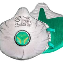 BLS Respiratory Zero 031 FFP3 Valved Mask - Full Gasket