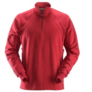 Snickers Workwear Snickers 2813 Half Zip Sweatshirt with Multi Pockets