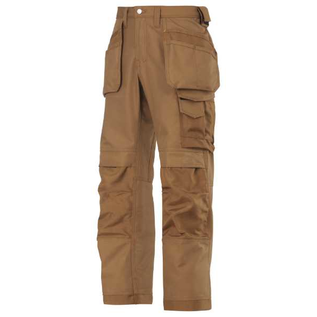Snickers Workwear Snickers 3214 Craftsmen Holster Pocket Trousers, Canvas +