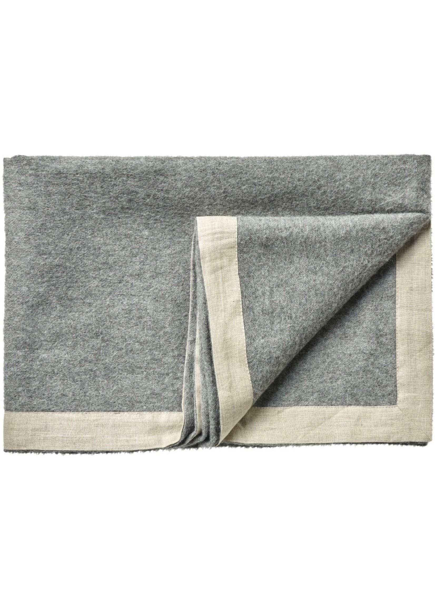 Silkeborg Plaid Mendoza Grey