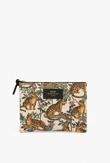WOUF WOUF Lazy Jungle Large Pouch