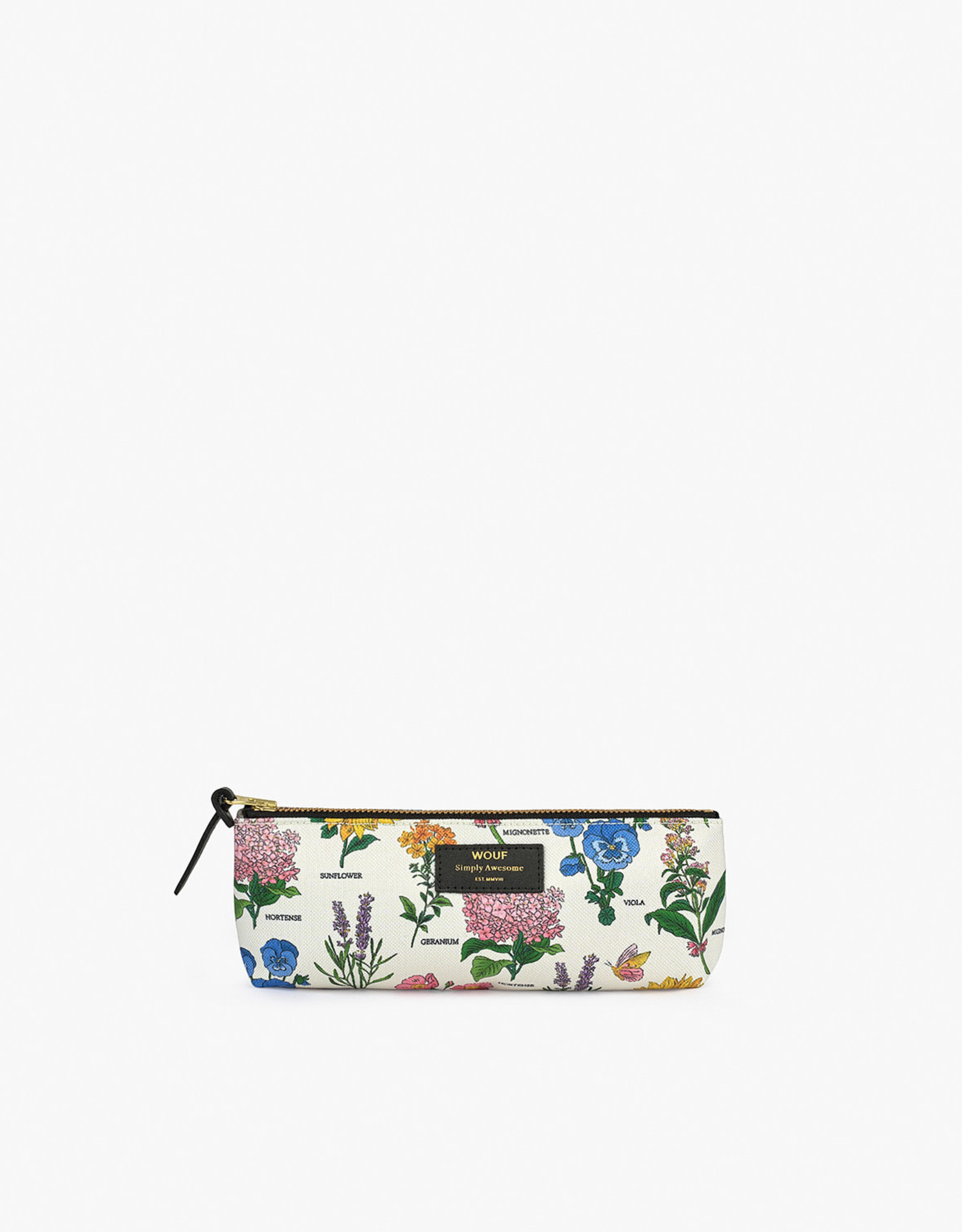 WOUF WOUF Botanic Pencil Case