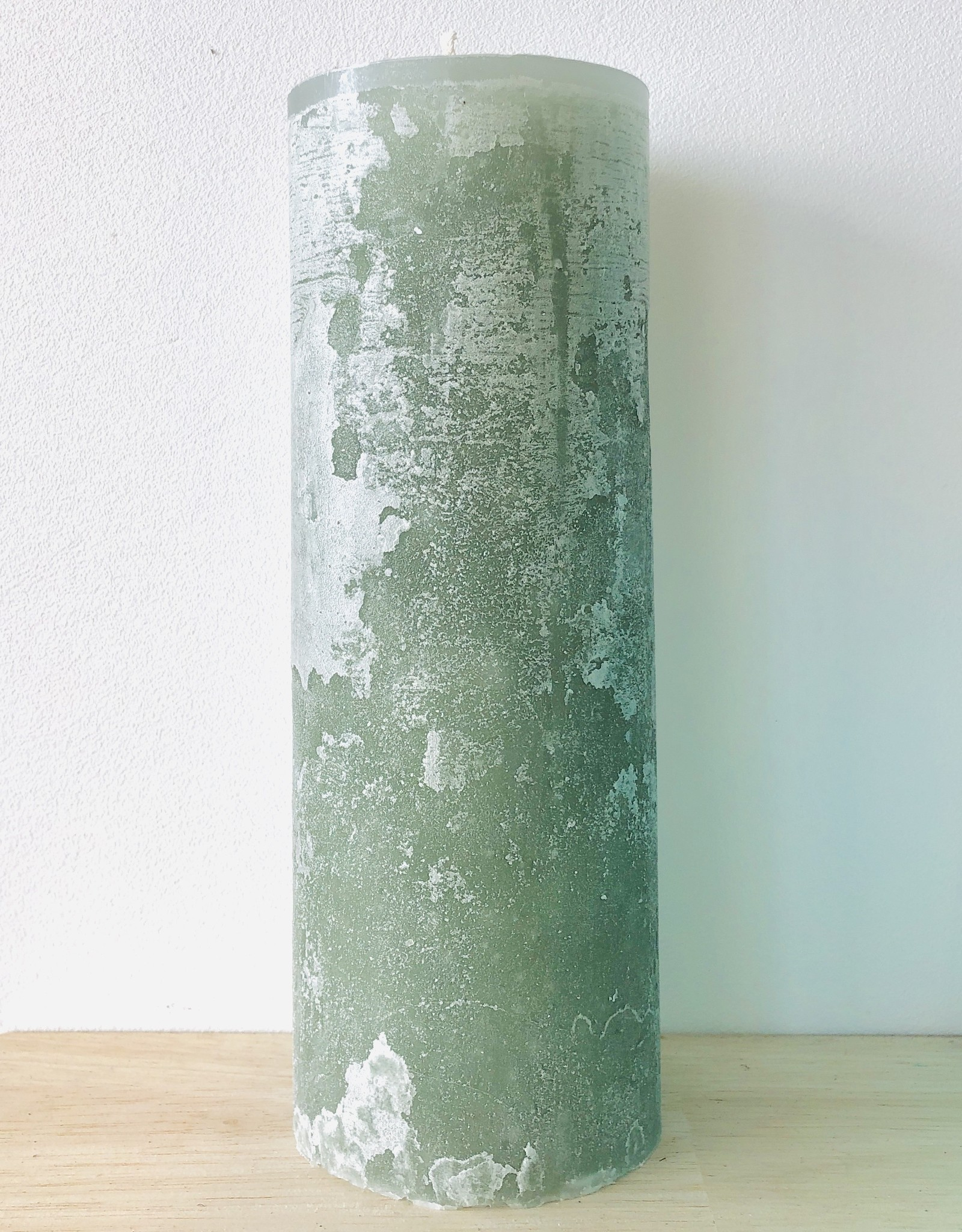 Dekocandle Kaars Cylinder Green 8,6 x 15
