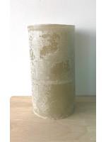 Dekocandle Kaars Cylinder Green Grey  7 x 20