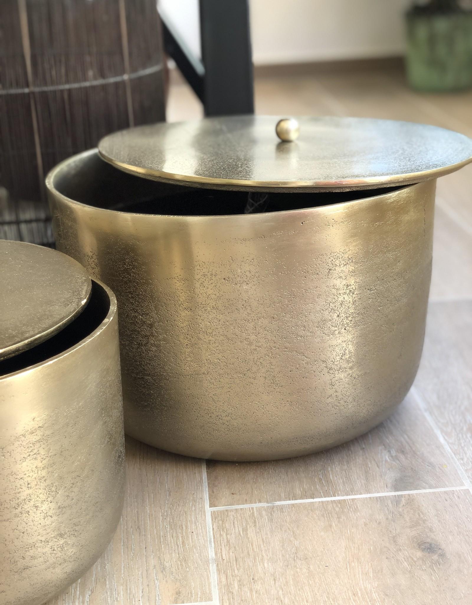 Dekocandle Buitenkaars Brass LARGE