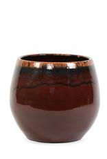 Dekocandle Bloempot Terracotta Bordeaux Large