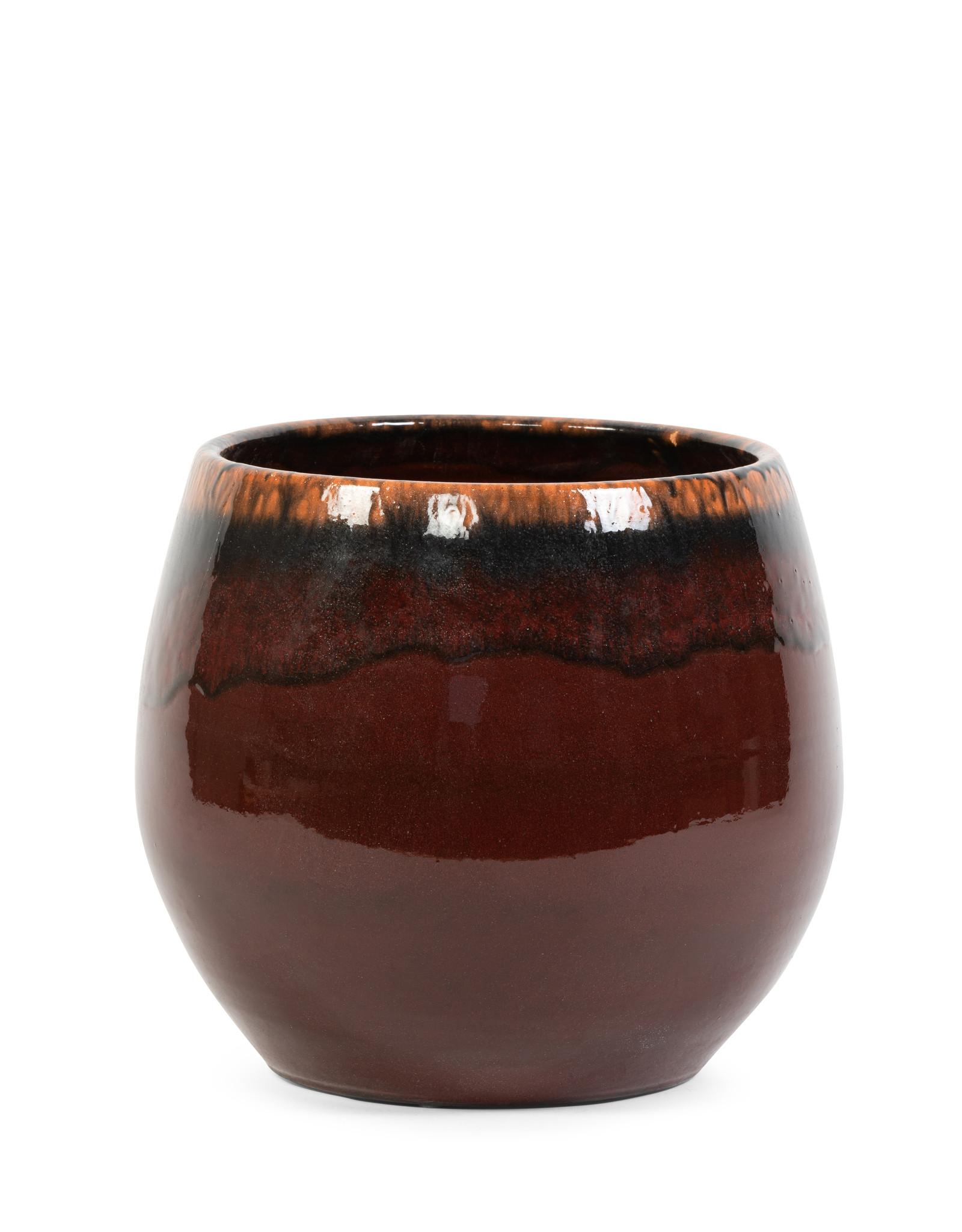 Dekocandle Bloempot Terracotta Bordeaux XL